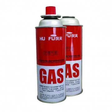Fuel Energy Empty Tinplate Safety Powerful Butane Gas Canister 220G  for camping stove