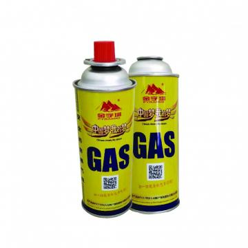Aerosol Can Empty Camping Refill Butane Gas Cartridge Canister  with CRV