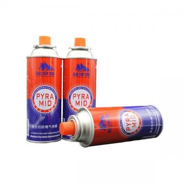 190g 220g 250g Metal gas can for filling refrigerant or butane propane gas
