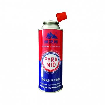 Industrial portable butane gas cartridge canister can cylinder