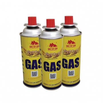 For portable gas stoves butane gas cartridge