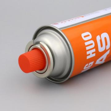 Cleaning Portable Outdoor  butane aerosol cans and gas cartridge
